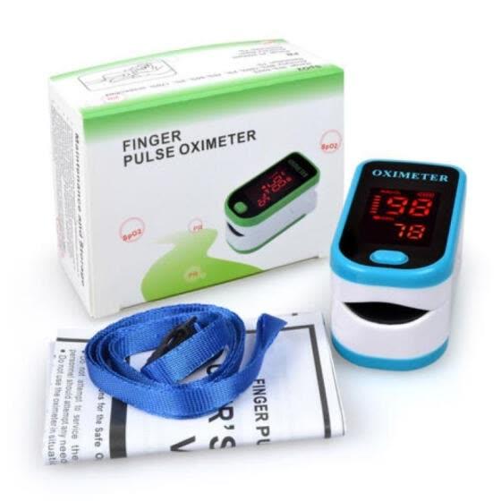 Shop SPO2 PR Finger tip Pulse Oximeter Blood Oxygen Heart