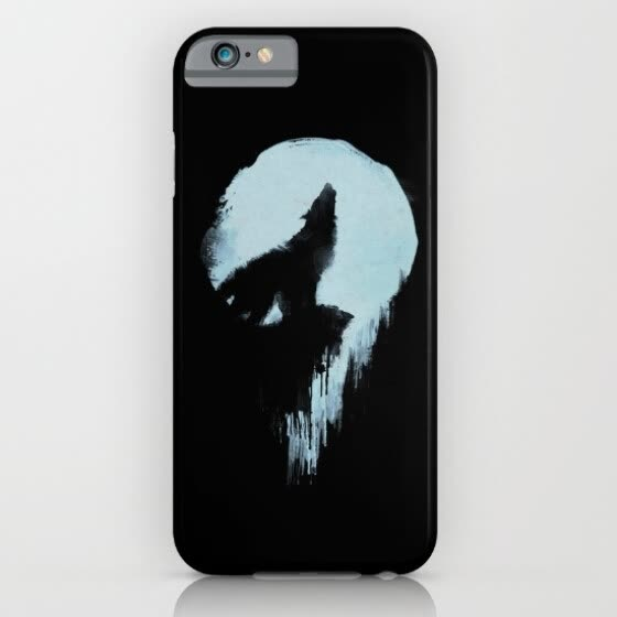 iPhone 6s Slim silicone design Case protective shockproof Wolf custom iphone 6s case