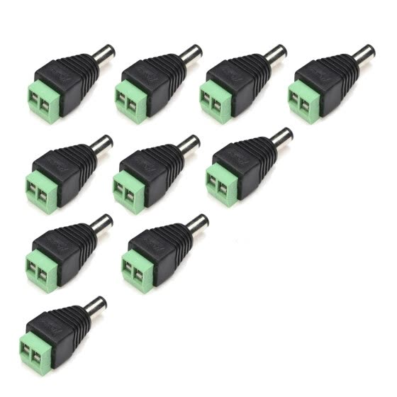 Shop 5Pairs DC Power Male Female 5 5x2 1mm Connector Adapter
