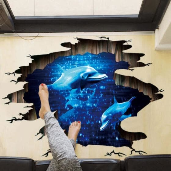 Shop Stylish Removable 3d Galaxy Planet Wall Stickers Art Decals Home Room Decor Diy Online From Best Murals On Jd Com Global Site Joybuy