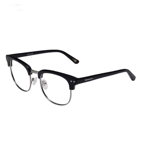 Wei Gu's (VEGOOS) 5043S retro fashion big frame men and women glasses myopic glasses