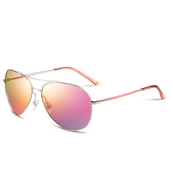 b236647dad4 Helen Keller Colorful Flywheel Mirror Ladies Men and Women Couples  Sunglasses P06 White Framed Gray Lens