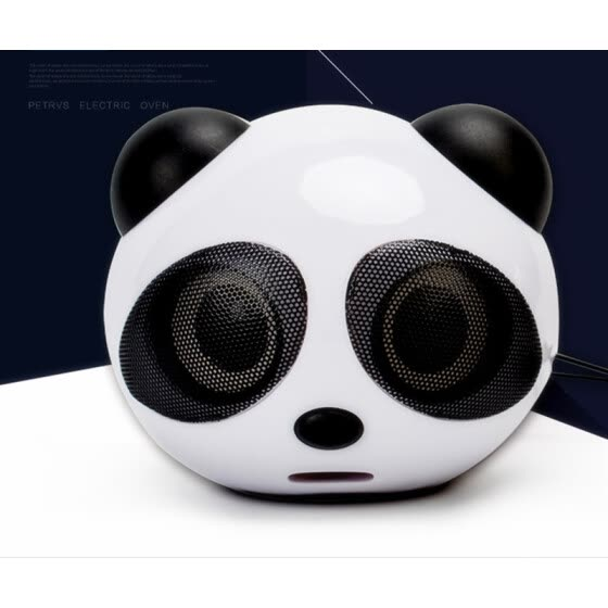 Mini computer USB 2 small speaker Cute Panda laptop desktop speaker speaker