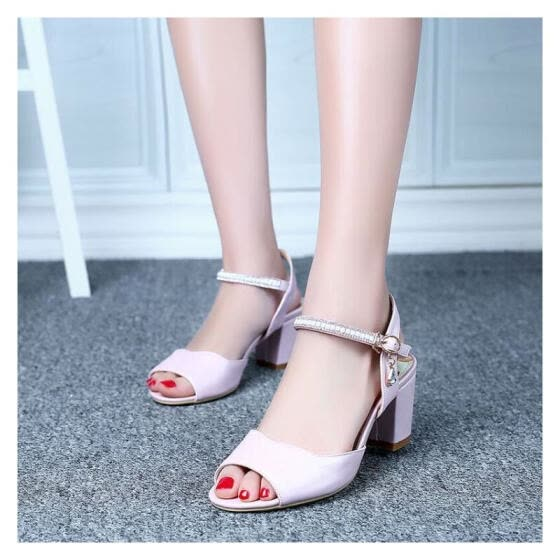 Ying Ji Women's Shoes Popular Sandals Sexy High Heel 2016 Summer new style Fashion The shoes of dating