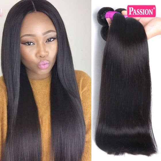 Passion Hair On Sale 8A Straight Virgin Brazilian Hair 4 Bundles Human Virgin Hair Straight Unprocessed Brazilian Virgin Hair