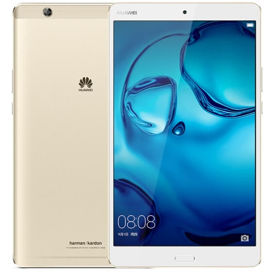 Huawei M3 8.4 inch tablet 4/32G WiFi version Gold