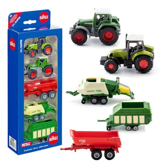 siku Shigao German brand toy car model simulation tractor harvester engineering vehicle alloy car model - farm car gift SKUC6286