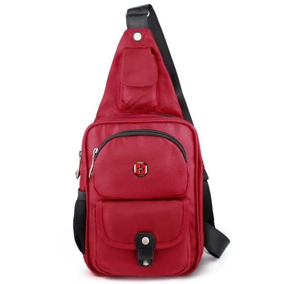 450cfd4f03c  Jingdong Supermarket  SWISSGEAR Breast Bags Men and Women Casual Shoulder  Messenger Bag Multi-