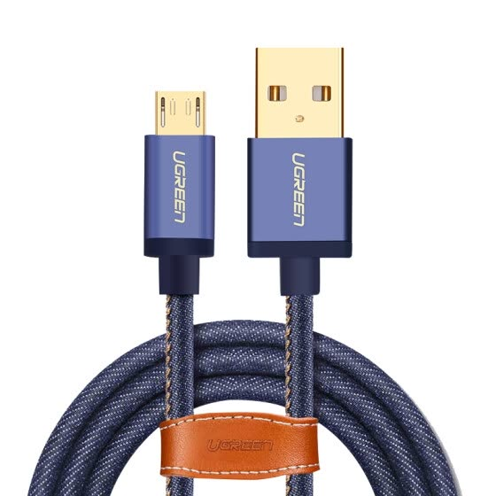 UGREEN Micro USB Charging and Data Transfer Cable for Xiaomi / Huawei/ Vivo/Samsung/Meizu 0.5M