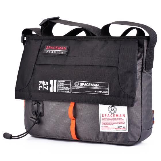 Spark Man (SPACEMAN) Messenger Bag Men s Bag Shoulder Bag Fashion Casual Bag  Tide Pack 6b5e6c5a6528e