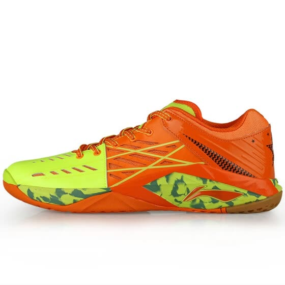 Li Ning LINING badminton shoes men's sports shoes Chen Long race models TD version of wear badminton training shoes 40.5 yards