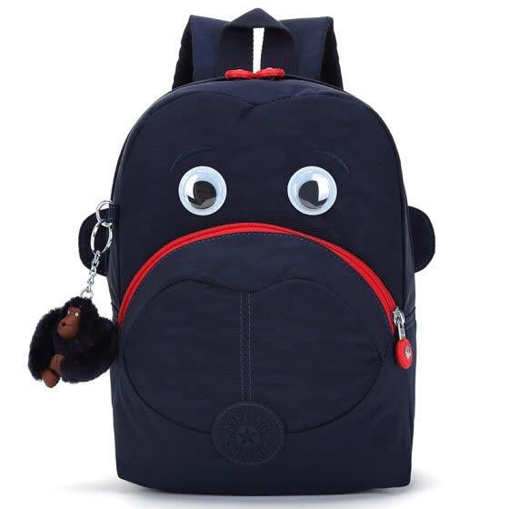 Kipling Kay Pu Lin Mini Baby Handbag Backpack Shoulder Bag Female K08568  Blue Combination ed20a5a897