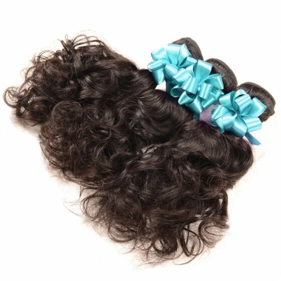 Raw Unprocessed Indian Virgin Hair Water Wave 3 Bundles Cheap 100 Human Hair Weave Virgin Indian Hair Extensions 8-30Inch