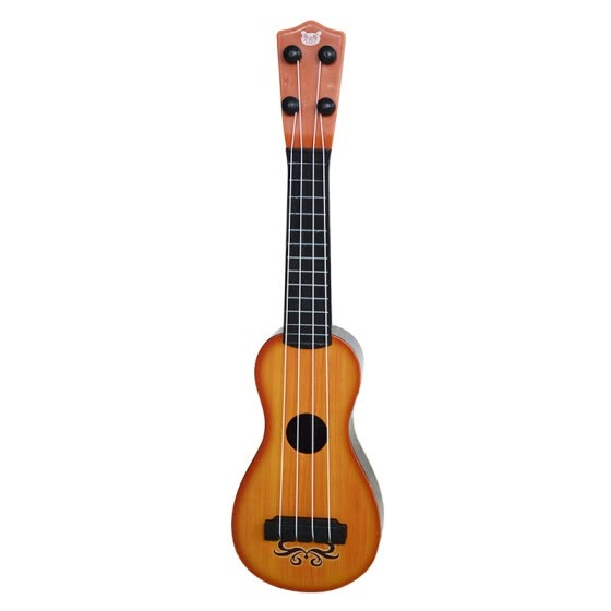 Bei Fen music (buddyfun) children small guitar educational toys Youkeli Li string adjustable 88043 red