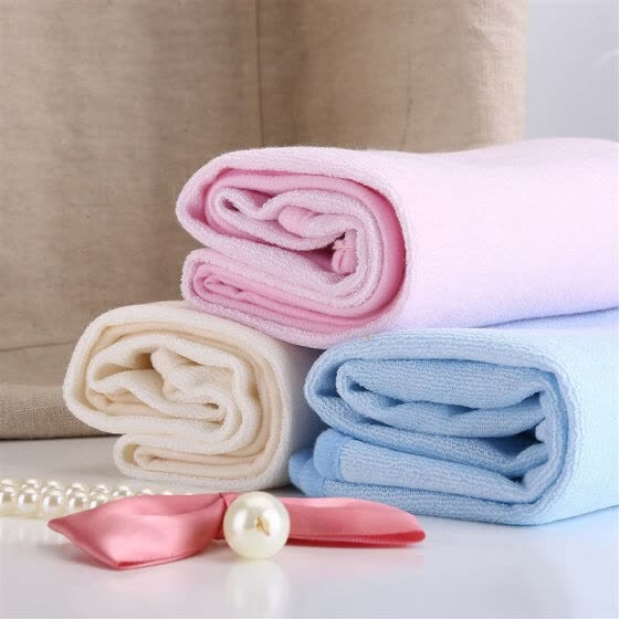 Hi baby baby baby urine pad bamboo fiber neonatal baby pad baby pad 70 × 55 cm 2 loaded blue + beige autumn and winter fast-drying breathable not hot
