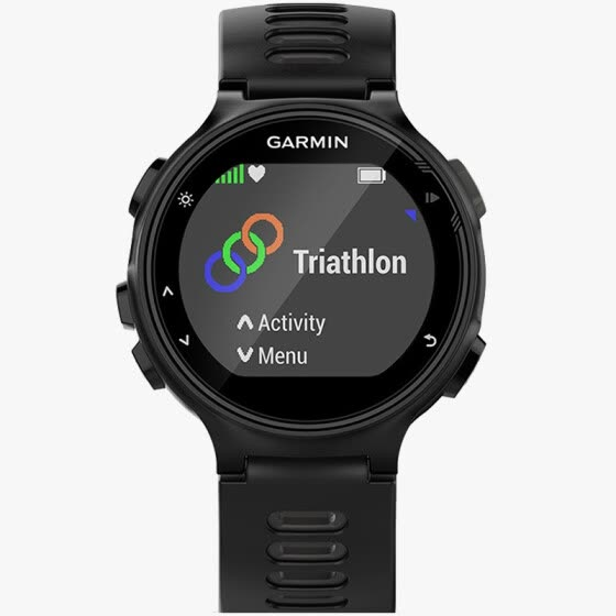 Jimmy (GARMIN) Forerunner735XT English version of the GPS optical heart rate watch running swimming iron three sports watch intelligent notice