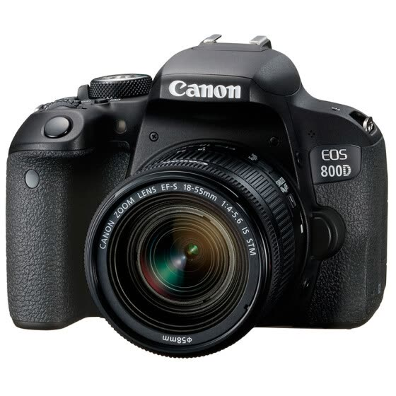 Canon EOS 800D SLR kit (EF-S 18-55mm f / 4-5.6 IS STM lens)