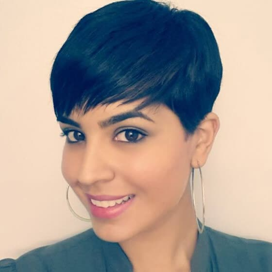 Shop Black Short Pixie Cut Wigs For Black Women Chic Black Human