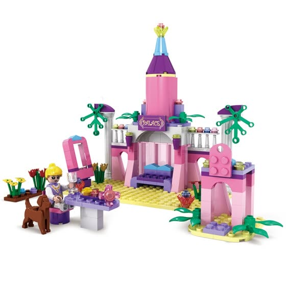 COGO Girls Princess Fairy Tale Castle Building Blocks 3272