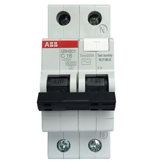 ABB Circuit Breaker 1P16A Leakage Protector Micro Air Switch With Leakage GSH201 AC-C16