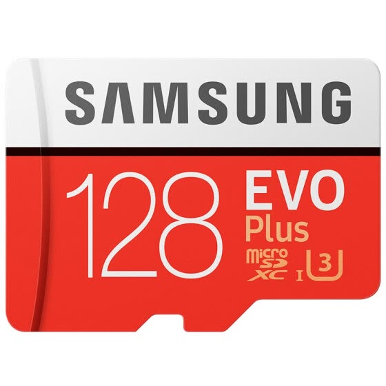 Samsung EVO Plus memory card 128GB 100MB/s