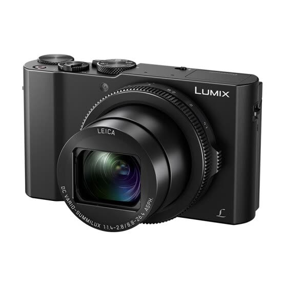 Panasonic (Panasonic) LX10 black card digital camera (2010 million pixels equivalent 24-72mm F1.4-2.8 large aperture Leica lens five-axis anti-shake WIFI)