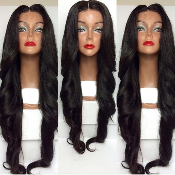 New Lace Front Human Hair Wavy Wigs 150% Density Full Lace Human Hair Wigs For Black Women Brazilian Natural Wave Front Lace Wigs