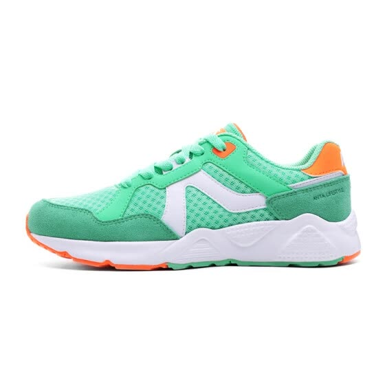 ANTA women's shoes 92728861 casual shoes women running shoes comfortable sports shoes pure heart green fluorescence / Anta white -1 6.5 female 37.5