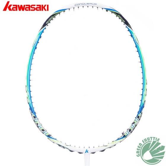 100% Оригинальный Kawasaki Full Carbon Badminton Racket завоеватель X160 с подарком