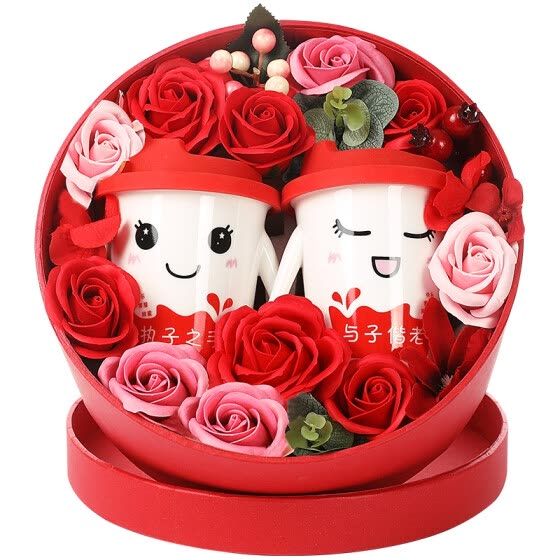 Dream Bridge B & D Wedding Gift Creative Day Wooden Decoration Birthday Gift Send Girl Valentine's