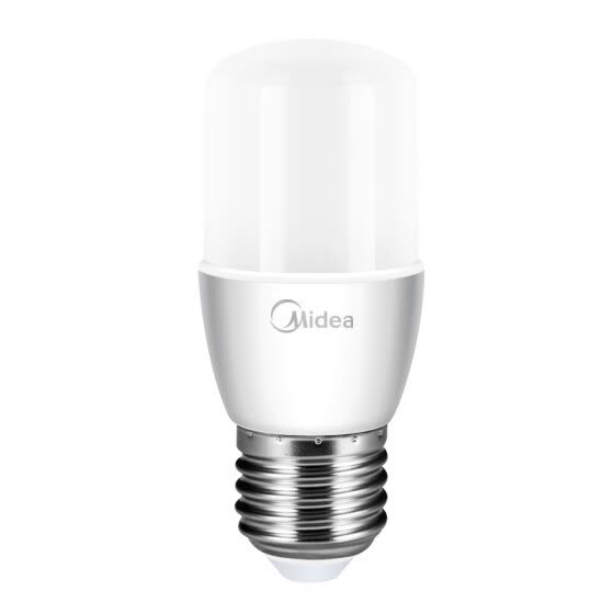 Midea (Midea) led bulb bulb E27 big screw mouth 7w column bubble 5700K white light