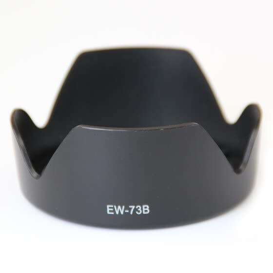 Good weather Canon EW-73B 67mm bayonet hood can be buckled back fit EF-S 18-135mm f / 3.5-5.6 IS STM camera lens 70D / 700D / 760D