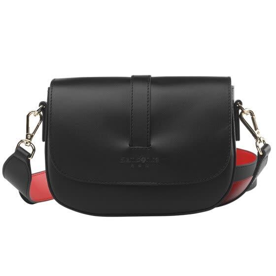f4a4d0b2ca8 Samsonite Messenger Bag Women s Bag Wild Fashion Tote Bag Crossbody Bag  Mini Saddle Bag