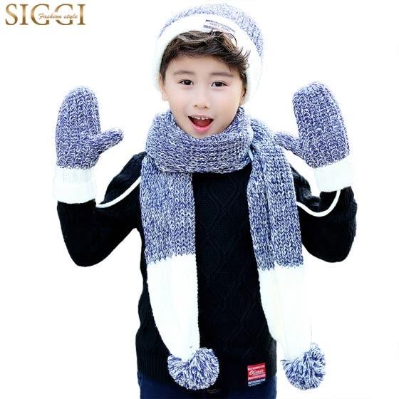 Shop Siggi Cm88234 Children S Hat Scarf Gloves Three Piece Set Of