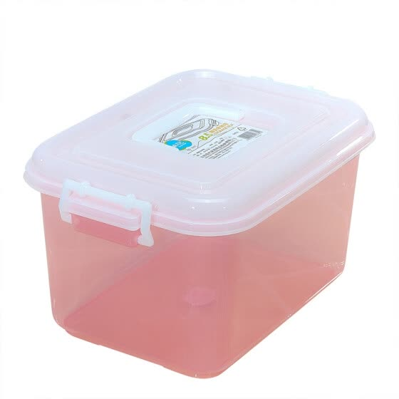 Shop Camellia storage box plastic storage box 8 5L portable
