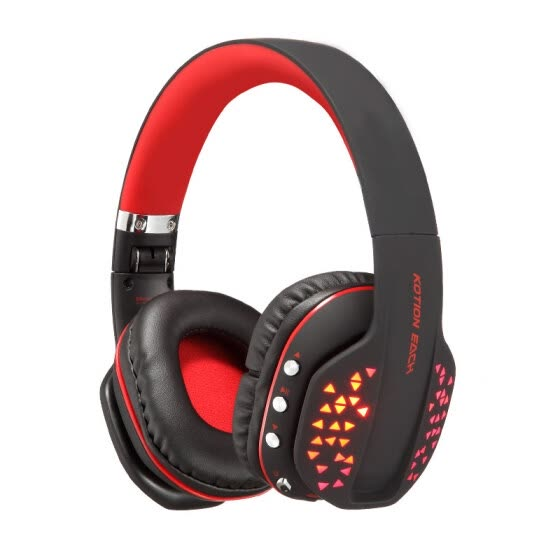 Shop In Kotion Each B3507 Headset Gaming Mobile Phone Tablet Laptop Wireless Bluetooth Headset Music Game Sports Black And Red Online From Best Headphones On Jd Com Global Site Joybuy Com