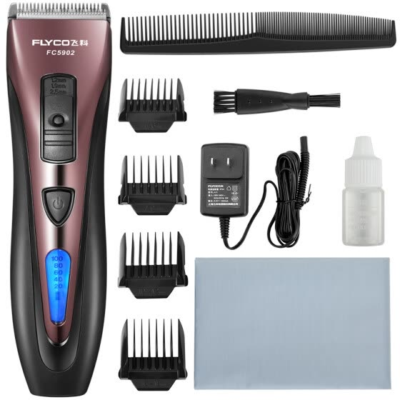 FLYCO FC5902 Professional Hair Clipper  LED Battery Display