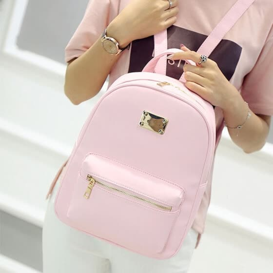 Women Solid Vintage Backpacks Designer High Quality Leather School Bags For Teenagers  Girls Bag Ladies Backpack a98ac66a71fe4