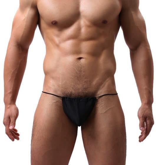 Hot Mens Underwear Super Sexy Sheer Jockstrap G String See Through Gay Micro Thongs Exotic