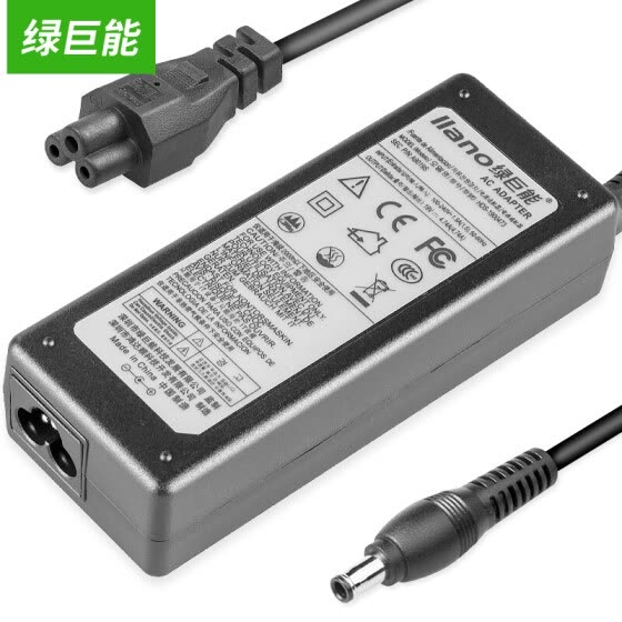 Green Power (llano) Samsung Super Charger Notebook Power Adapter NP900X3A 530U3B / C 535U3C / 4C 532U3C 19V 2.1A 40W Thin