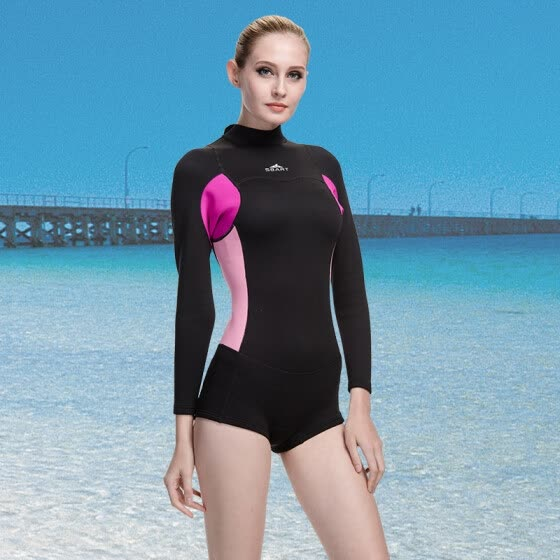 0df74fafae5c6 SBART New Style Neoprene Wetsuit Women 2MM Surfing Wetsuits One Piece  Swimming Snorkeling Diving Wet Suit