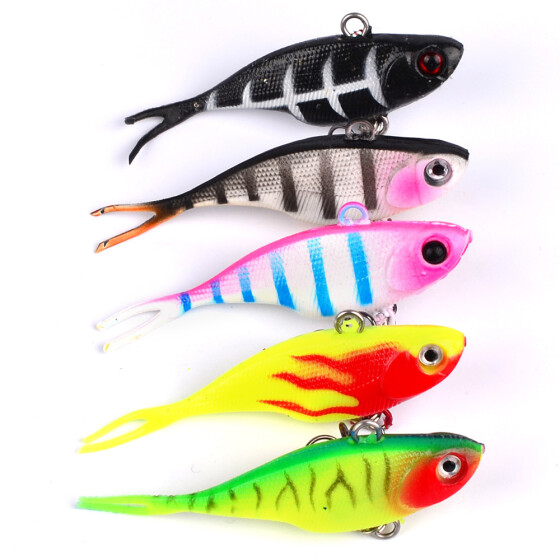 Wobbler Fishing lure Accessory Without hookss 6cm//2.36/'/' Bait Tackle Crankbaits