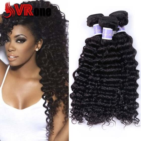 Peruvian deep wave Hair 7a Peruvian Hair 4 Bundles Virgin Human Hair Extensions