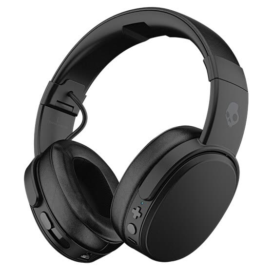 Skullcandy CRUSHER WIRELESS Headset adjustable stereo Vibration Bass Bluetooth headset black