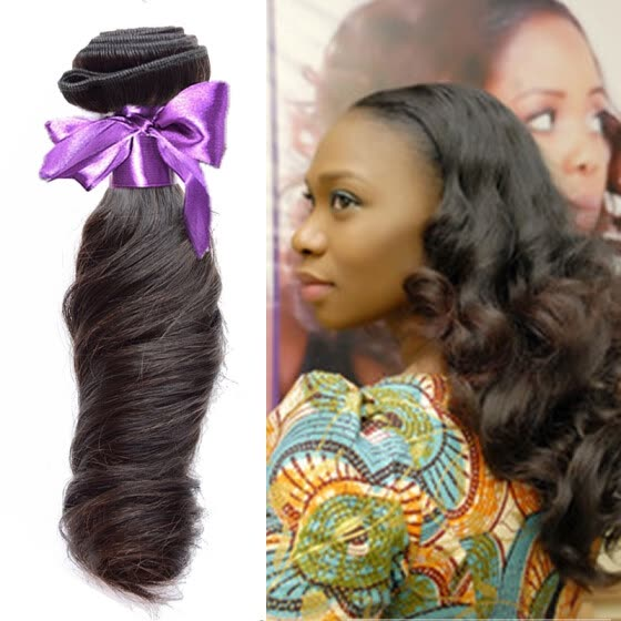 Funmi Curly Hair Weave Bundles 100% Human Hair Brazilian Funmi Hair  Extensions 4 Bundles 100g 12d9ce6b78