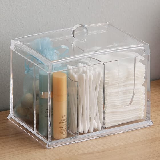 Image result for makes up cotton storage box