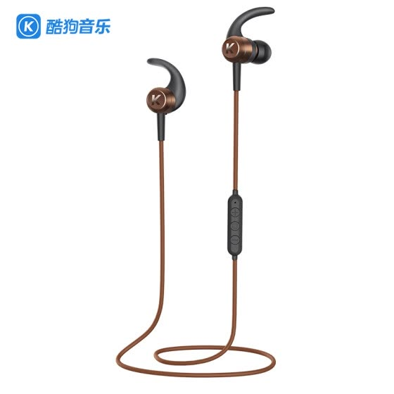 KUGOU M1 wireless waterproof bluetooth earphone, gold