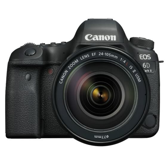 Canon (Canon) EOS 6D Mark II 6D2 SLR camera SLR kit full frame (EF 24-105mm f/4L IS II USM SLR lens)