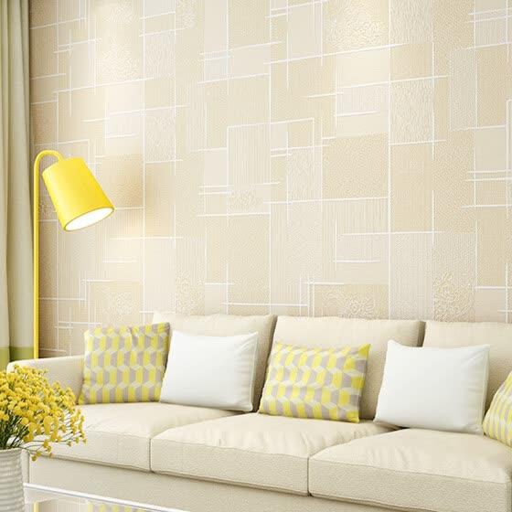 Shop Foojo Self Adhesive Thicker Non Woven Wallpaper Living Room
