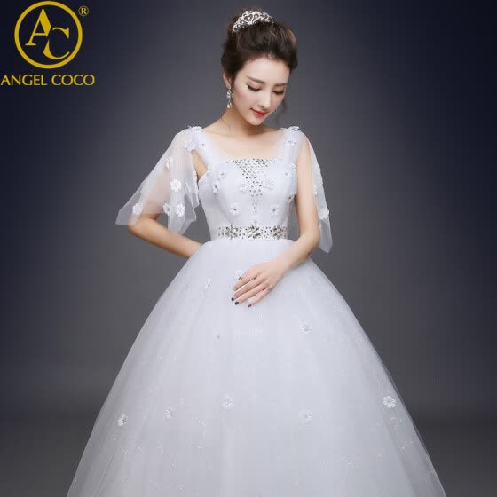 MS Pregnant Wedding Dress Amazing New Sweetheart Neck Off The Shoulder Ball Gown Chapel Train Tulle Bride Dresses Robe De Mariage